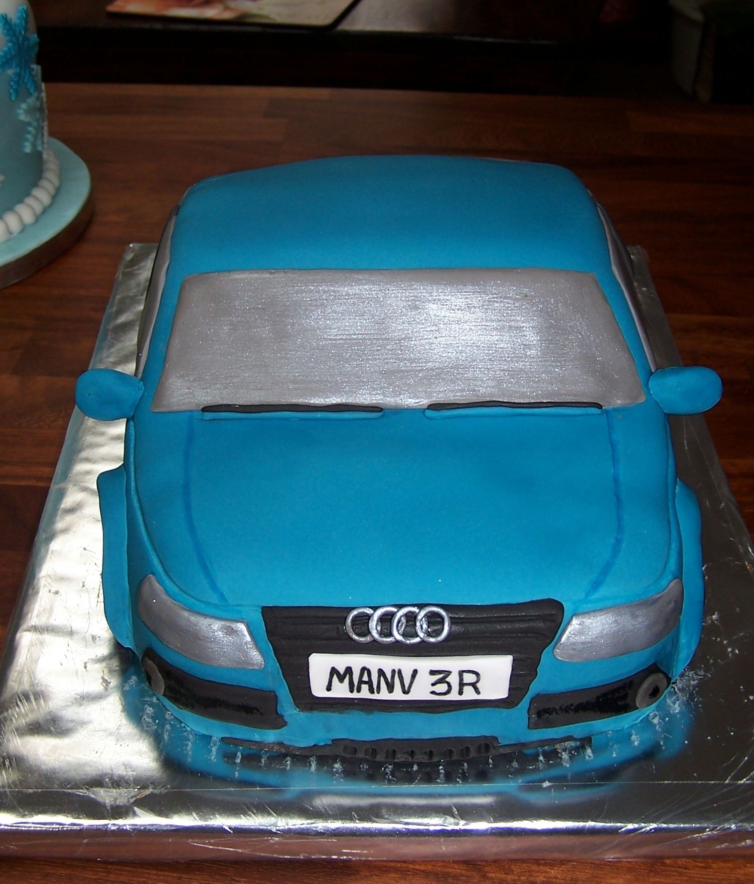 My Version Of An Audi A4 Cake