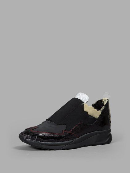Maison Margiela Black High Frequency High-Top Sneakers