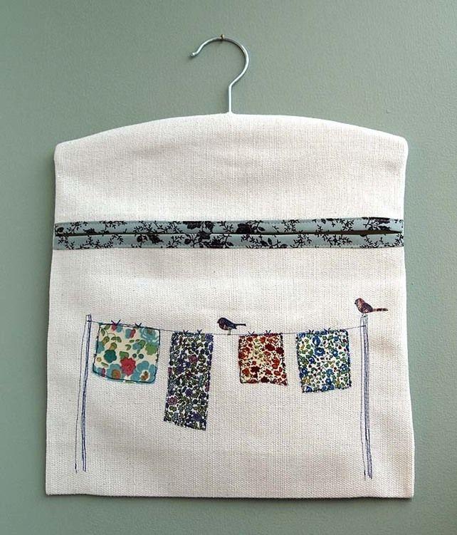 Duck egg ditsy peg bag £15.00 | cepcebe (organizer) | Pinterest ...