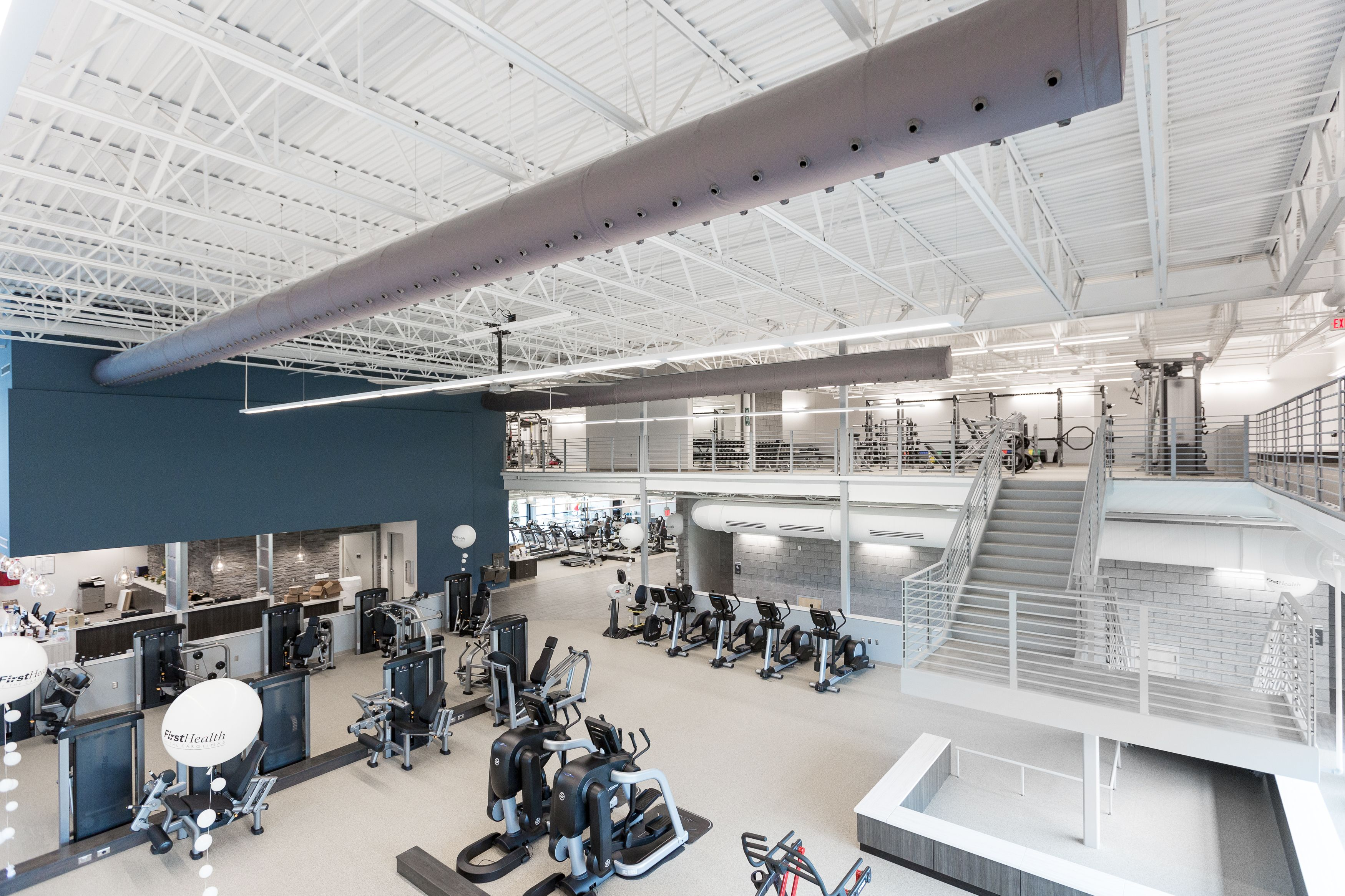 Firsthealth Fitness Lee Campus Sanford Nc Ecore Ecosurfaces Ecofit Spartansurfaces Recycledrubber Gym Interior Interior Architecture Interior Spaces