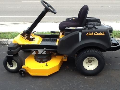 CUB CADET RZT-S - RZT-S46  Zero turn with a steering wheel  24hp