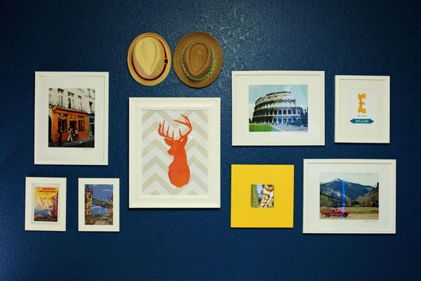 Oh, the places you'll go! Baby nurseries with a travel theme | BabyCenter Blog. Fun Gallery wall