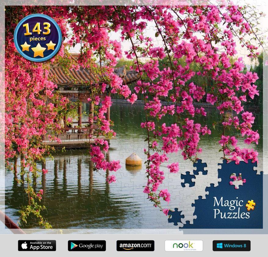 Eu acabei de montar este quebra-cabeça no aplicativo Quebra-cabeças Mágicos para iPad. Experimente!