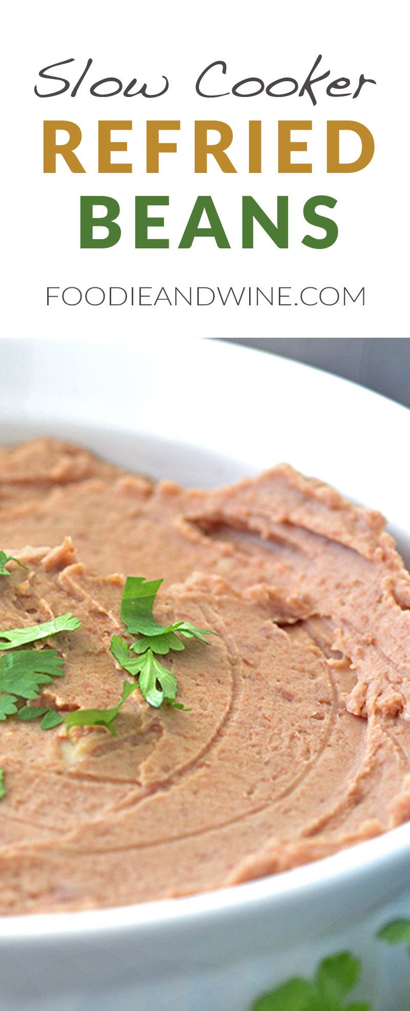 Slow cooker restaurant style refried beans recipe the mexican food slow cooker restaurant style refried beans recipe the mexican food recipe is loaded with flavor forumfinder Image collections