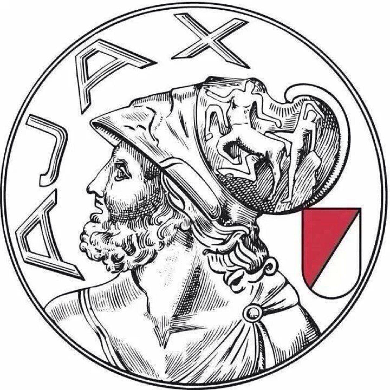 Ajax Oude Logo Google Zoeken Voetbal Tekenen Voetbal Posters Voetbal