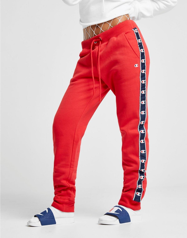 Champion Pantalon de survêtement Tape Fleece Femme cc0ad988711