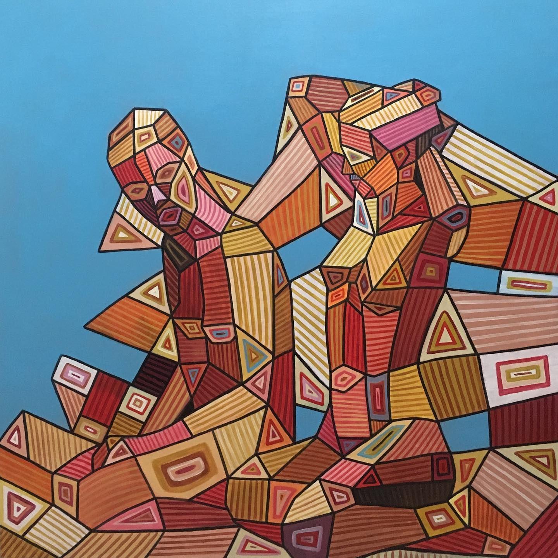 freunde 100x100 cm acryl auf leinwand art canvas spiderman bilder kaufen versandkostenfrei
