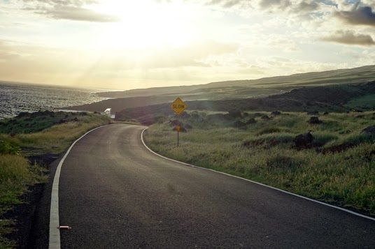 The most beautiful and isolated road in Maui, Hawaii
