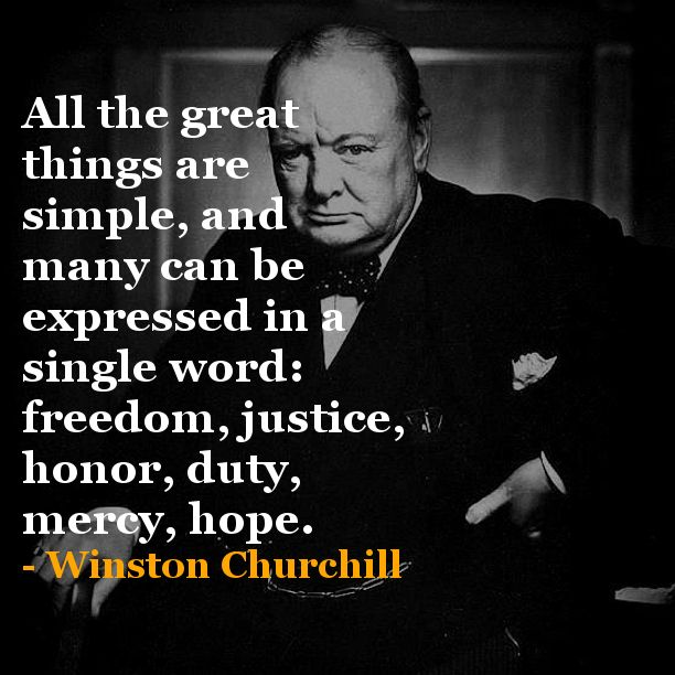 Funny Quotes Churchill: Sir Winston Churchill Quotes - Bing Images