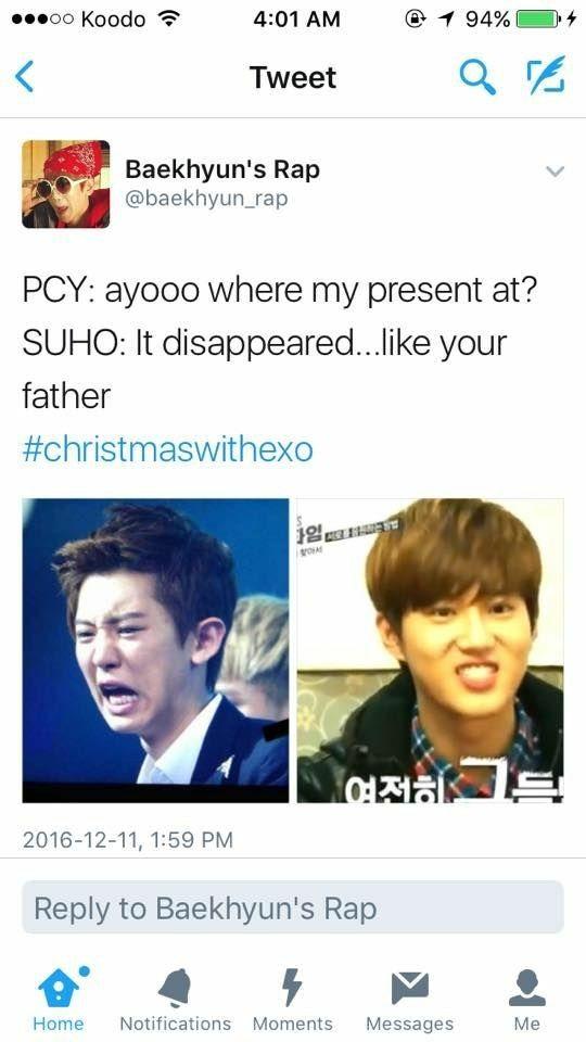 Lol Exo Funny Joke With Images Exo Memes Exo Funny Kpop Exo