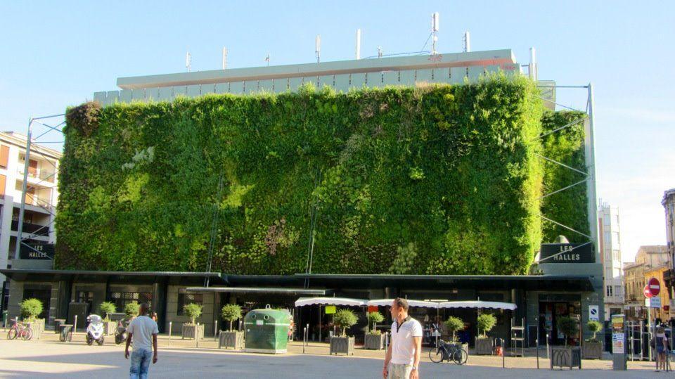Janet Stevens 3.27.13: Green Parking Garage   Avignon, France