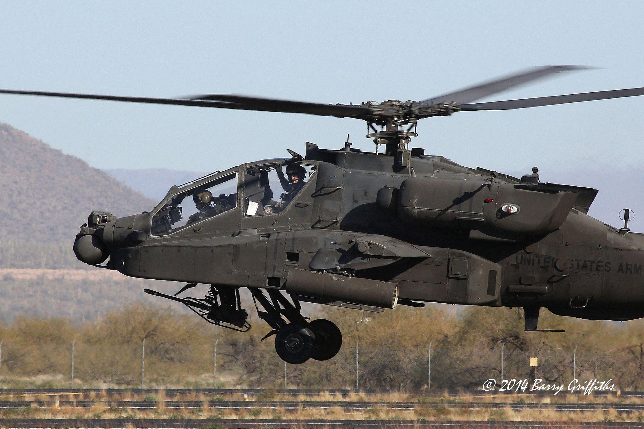 Boeing AH-64D Apache Longbow US Army 09-5654 Arizona Army ...