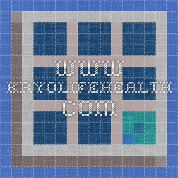www.kryolifehealth.com | Graphic organizers, Games, Genius ...