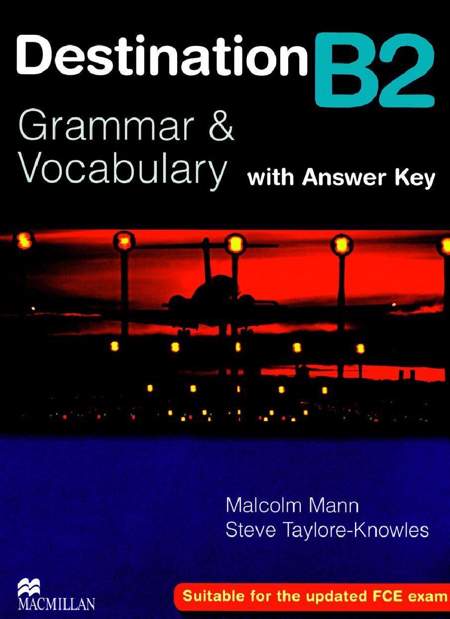 Destination B2 Grammar and Vocabulary with Answer key pdf | my