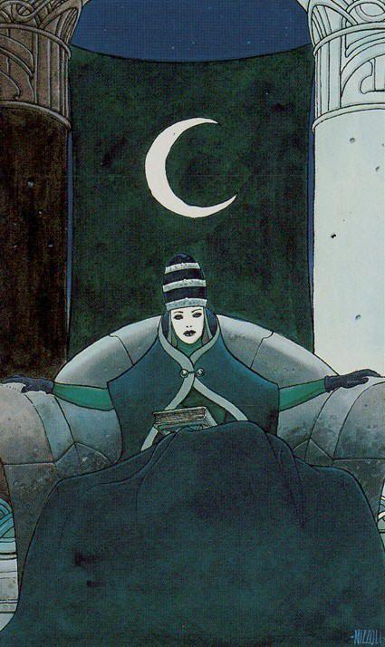 II. The High Priestess - Secret Tarot by Marco Nizzoli | Mysti ...