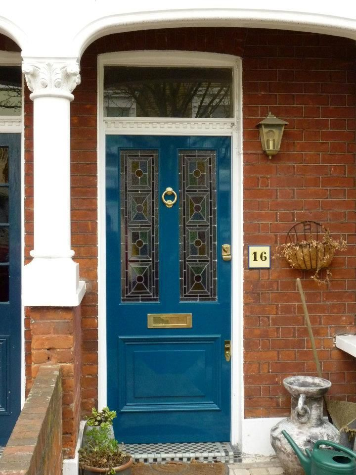 The London Door Company \'Deep Turquoise\' paint colour - Gloss ...