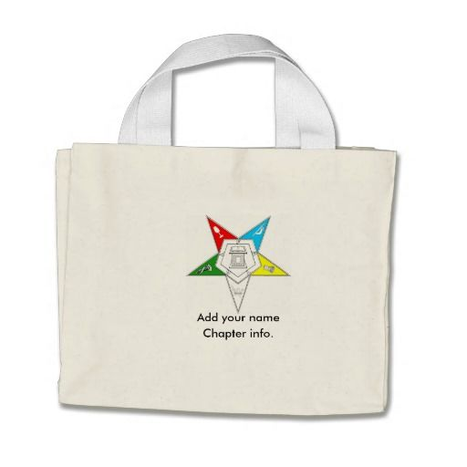 ORDER OF THE EASTERN STAR PURSE BAG TOTE BAG OES