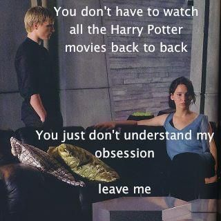LOL this is me during the ABC Family Harry Potter weekends.