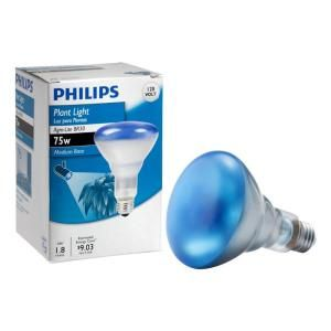 Philips 75 Watt Br30 Incandescent Agro Plant Grow Flood Light Bulb 415281 The Home Depot Uv Light Bulbs Grow Light Bulbs Light Bulb Plant