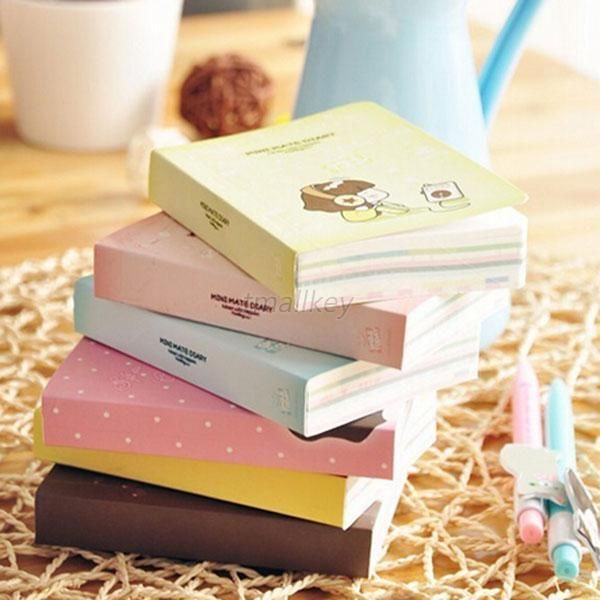 Lovely Cute Sketchbook Pocket Diary Study Planner Notepad Journal Notebook T64 in Books, Magazines, Accessories, Gift Books, Diaries, Journals | eBay