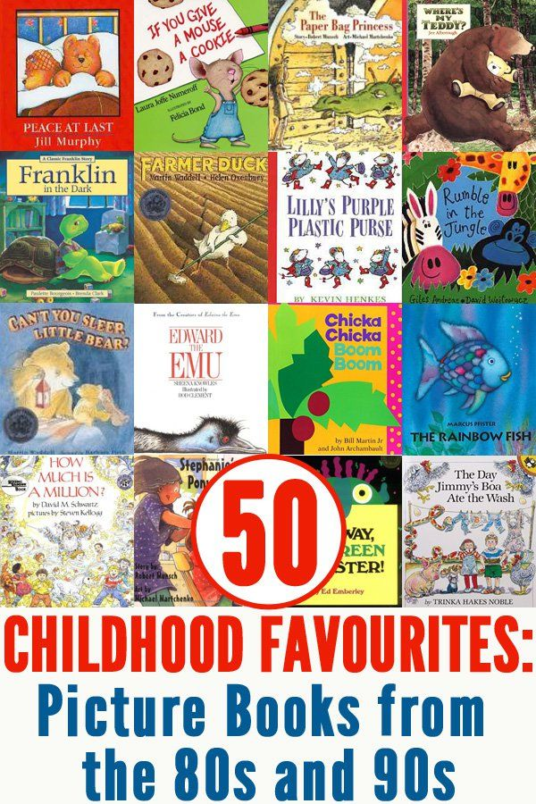 50 Popular Picture Books from the 80s & 90s To Read To ...
