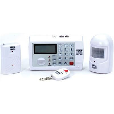 The mace wireless home security system is a complete do it yourself the mace wireless home security system is a complete do it yourself burglar alarm system with a buit in auto dialer you can easily install and sel solutioingenieria Images