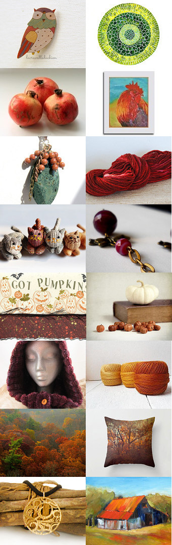 Fall Collection by Christa Brenner on Etsy--Pinned with TreasuryPin.com