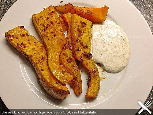 Scharfer Butternut - Kürbis Vegans - kürbissuppe rezept chefkoch