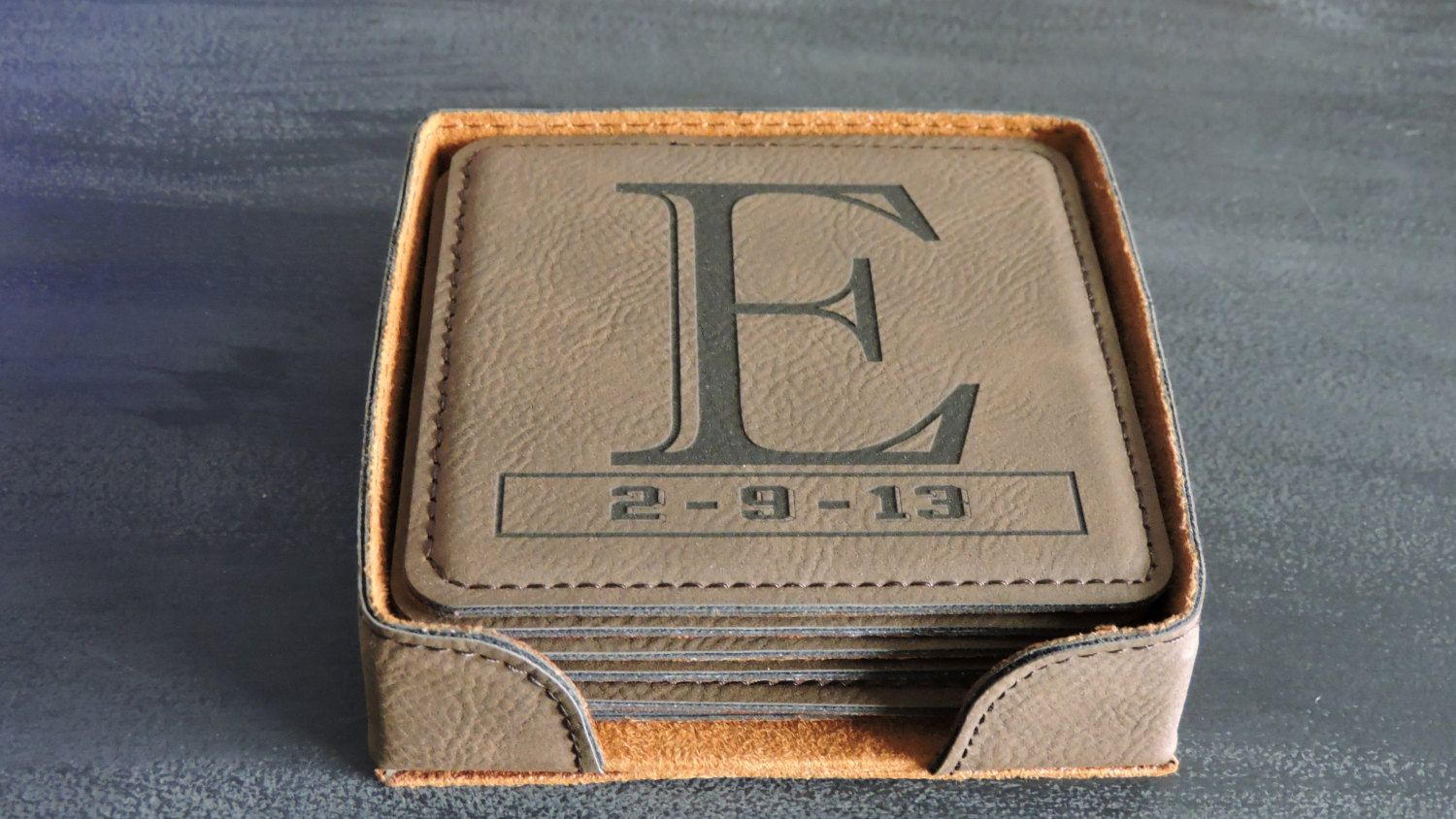 9th Anniversary Leather Gift, Leather Wedding Anniversary