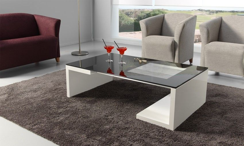 mesa de centro moderna de diseo ref l