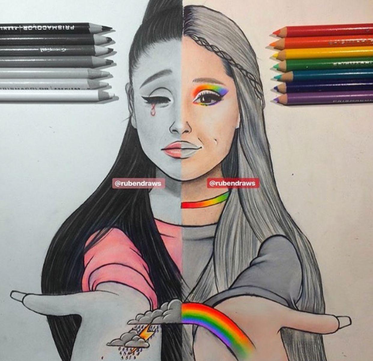 Sooo Nice Draw Ariana Grande Art Drawings