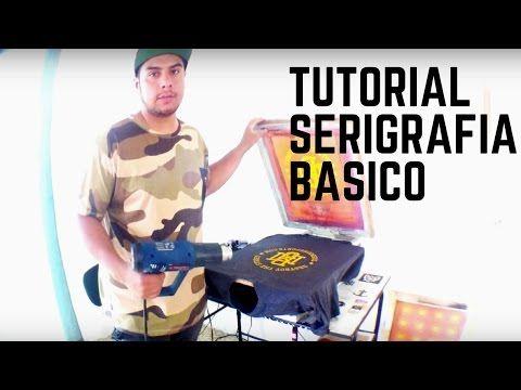 TUTORIAL: COMO HACER TUS PROPIAS PLAYERAS CON SERIGRAFíA - YouTube