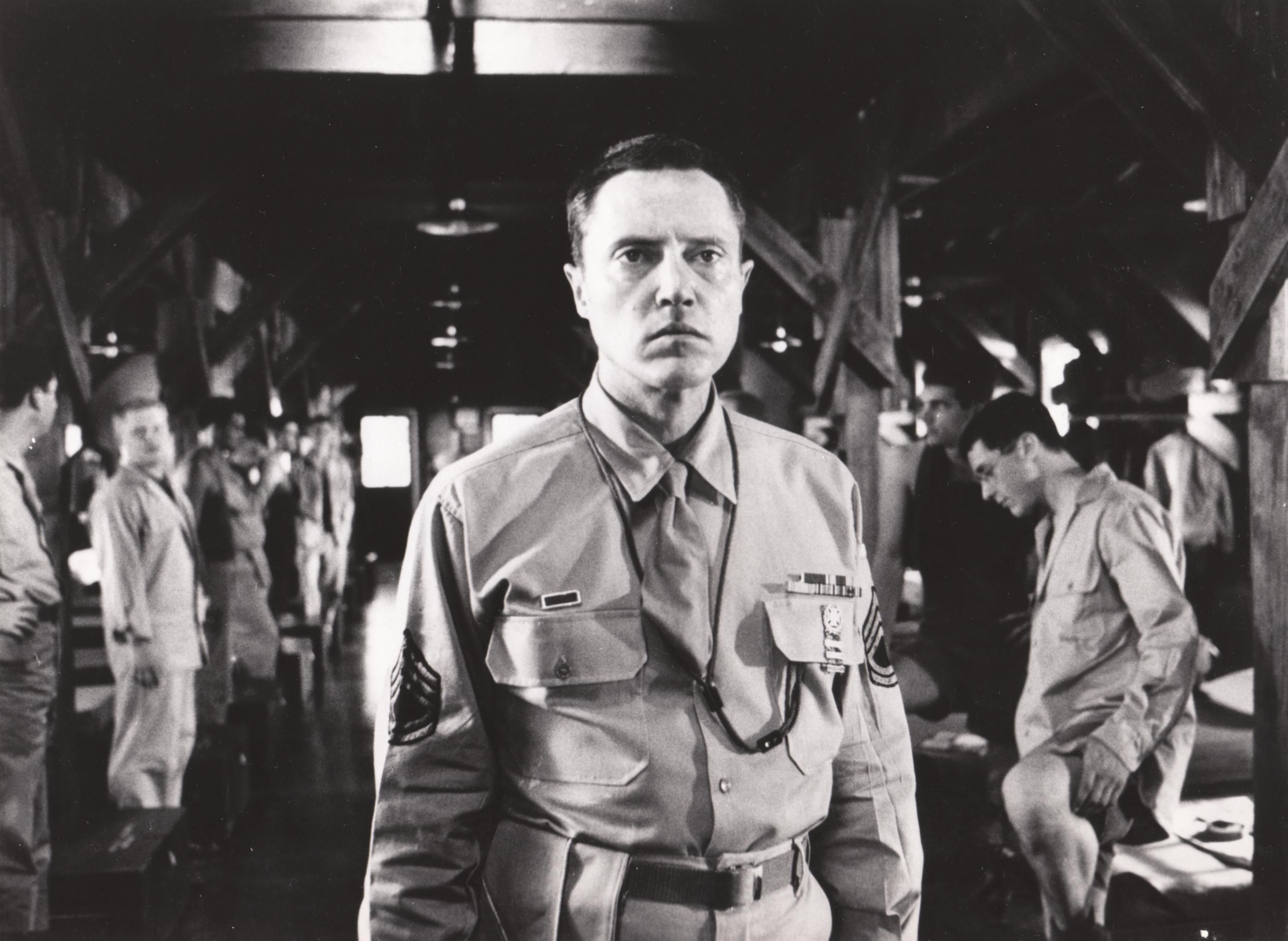 Biloxi Blues Movie Still 1988 Christopher Walken As Sgt Merwin