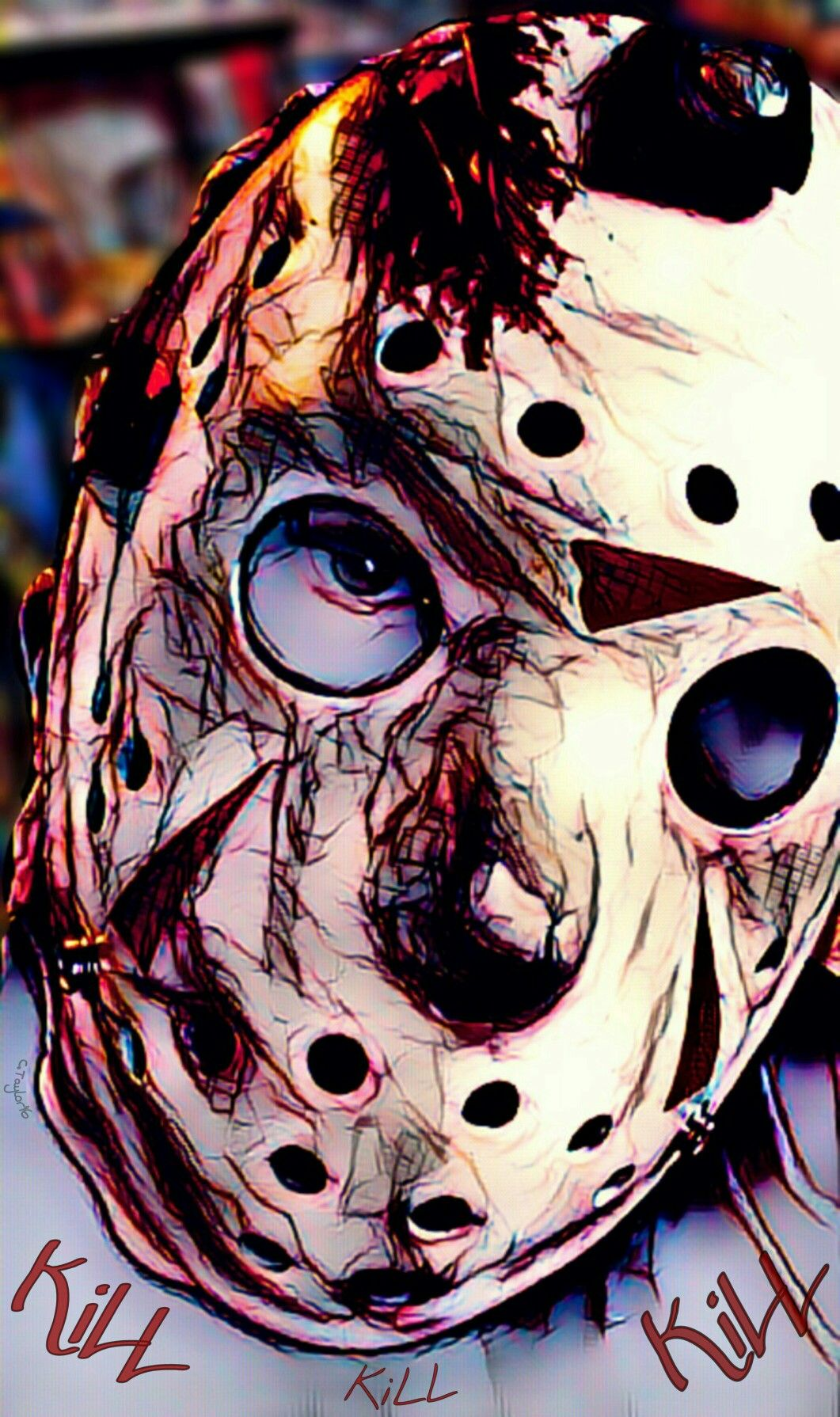 Kill for Mommy Horror art, Jason voorhees, Horror movies