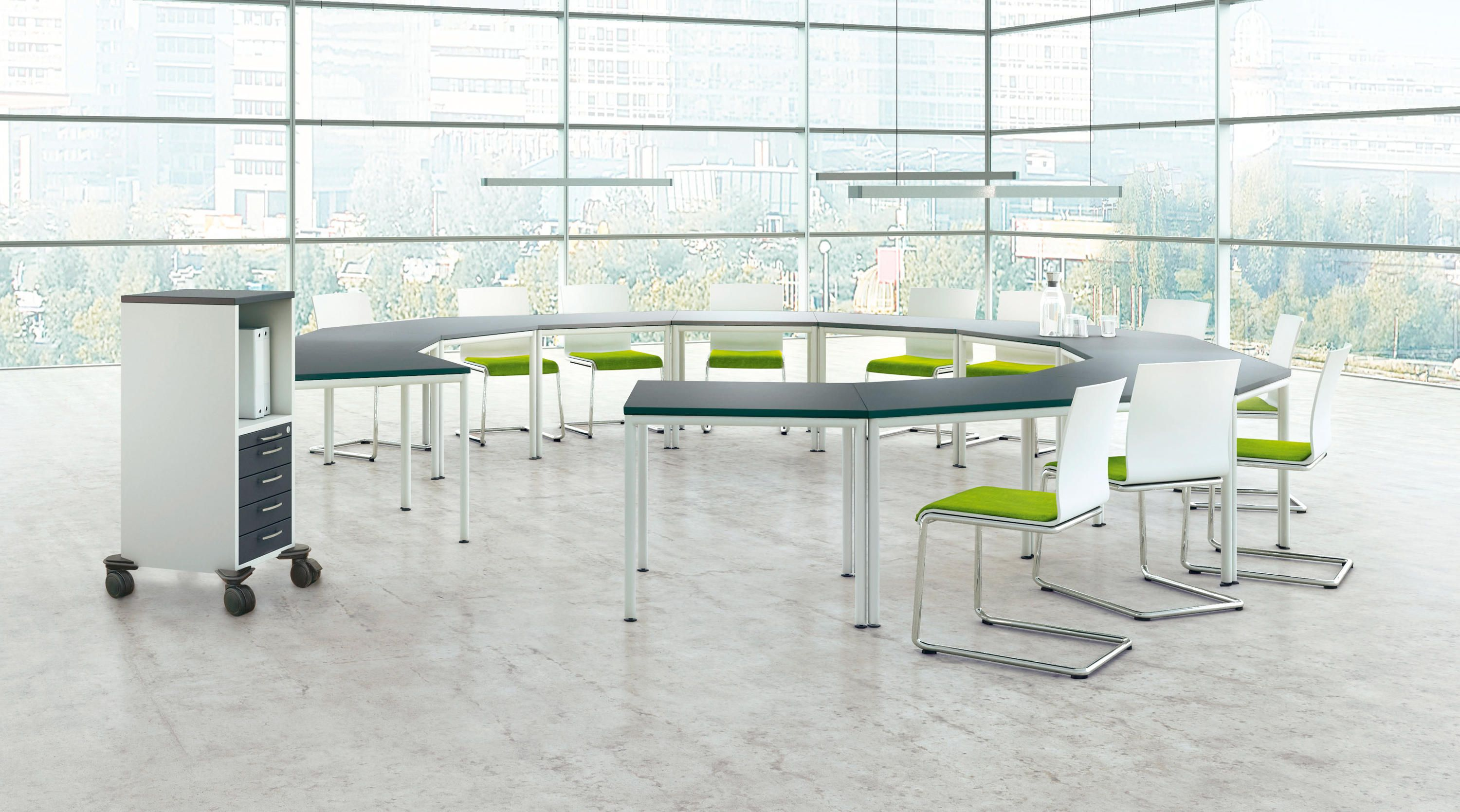 PONTIS MEETING - Conference table systems from Assmann Büromöbel ...
