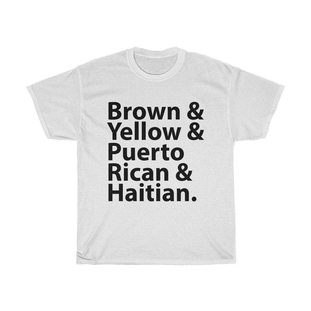 208b5de69 I Like 'Em Brown Yellow Puerto Rican Or Haitian T-Shirt | I Like 'em ...