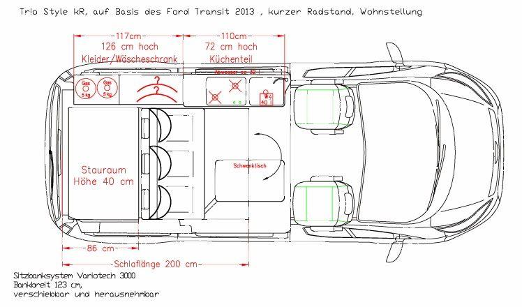 Schaltplan Ford Tourneo Custom