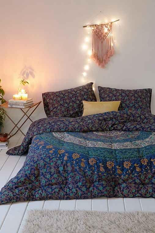 Magical Thinking Blue Medallion Comforter Home Blue Comforter Room