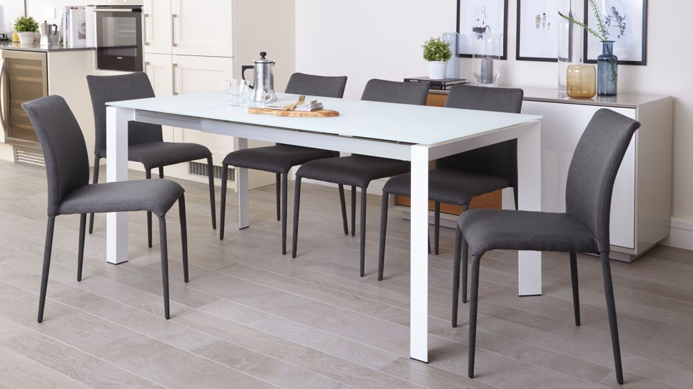 Extendable Long Narrow Dining Table with Multifunctional in 2020 | Narrow dining tables, Colored ...