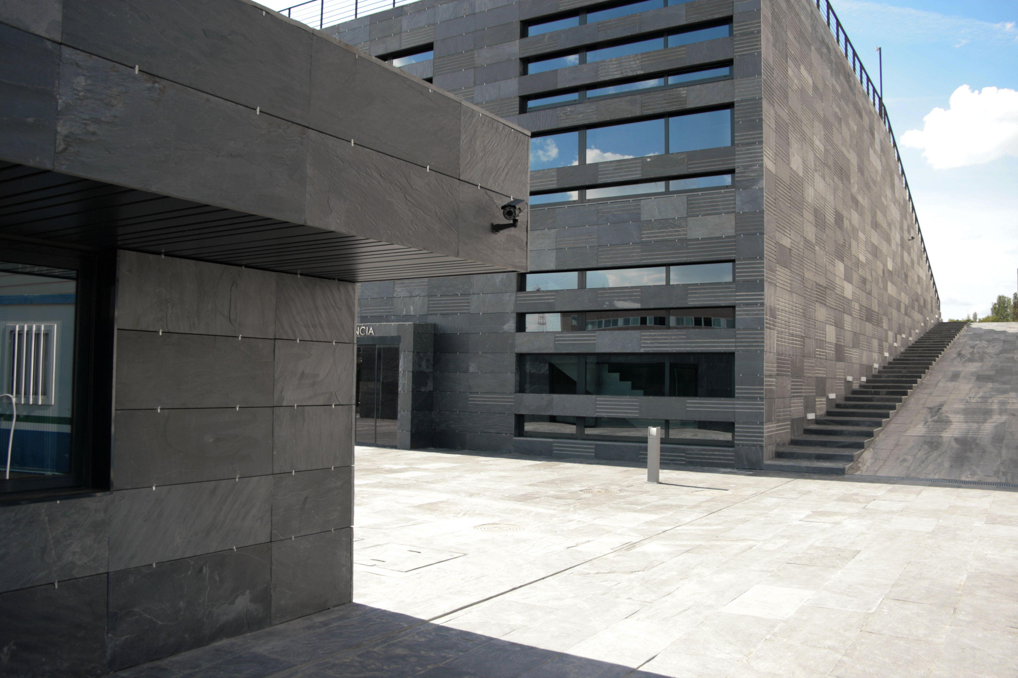 Pierre Naturelle Pour Facade système cupa de façade agrafée en pierre naturelle   #cupa