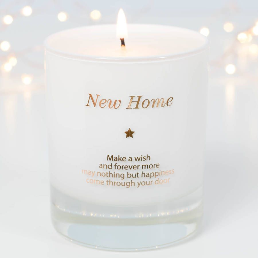 Make A Wish In Your New Home Candle | Housewarming gifts and Gift