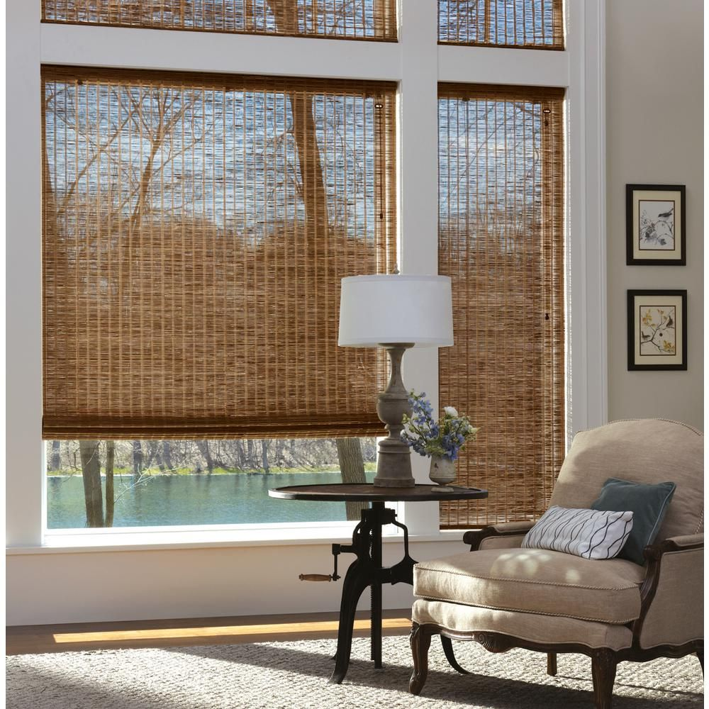 Provenance Woven Wood Shades Curtains