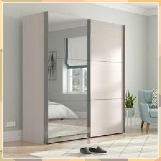 Sliding Door Wardrobe Mueller Bedroom Storage Apartment Bedroom Storage Cute Bedroom Storage Desig In 2020 Mirrored Wardrobe Bedroom Furniture Sets Sliding Wardrobe