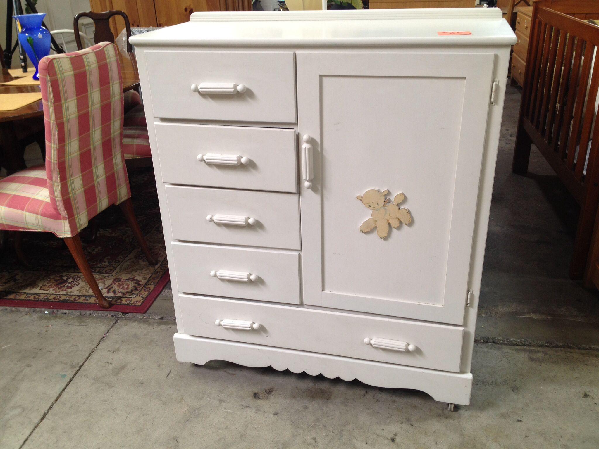 Thomas Edison Little Folks Furniture Dresser