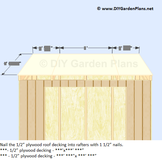 How To Install The Lean To Shed Sidewall Siding Back Siding Roof Deck Shed Plans Shed Lean To Shed