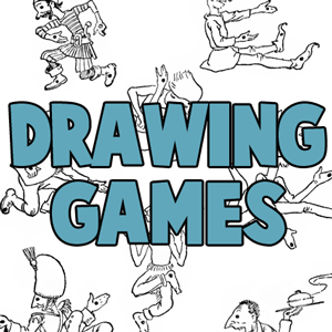 drawinggames step drawing games ideas for kids doodling pencil and paper boredom busters - Drawing Paper For Kids