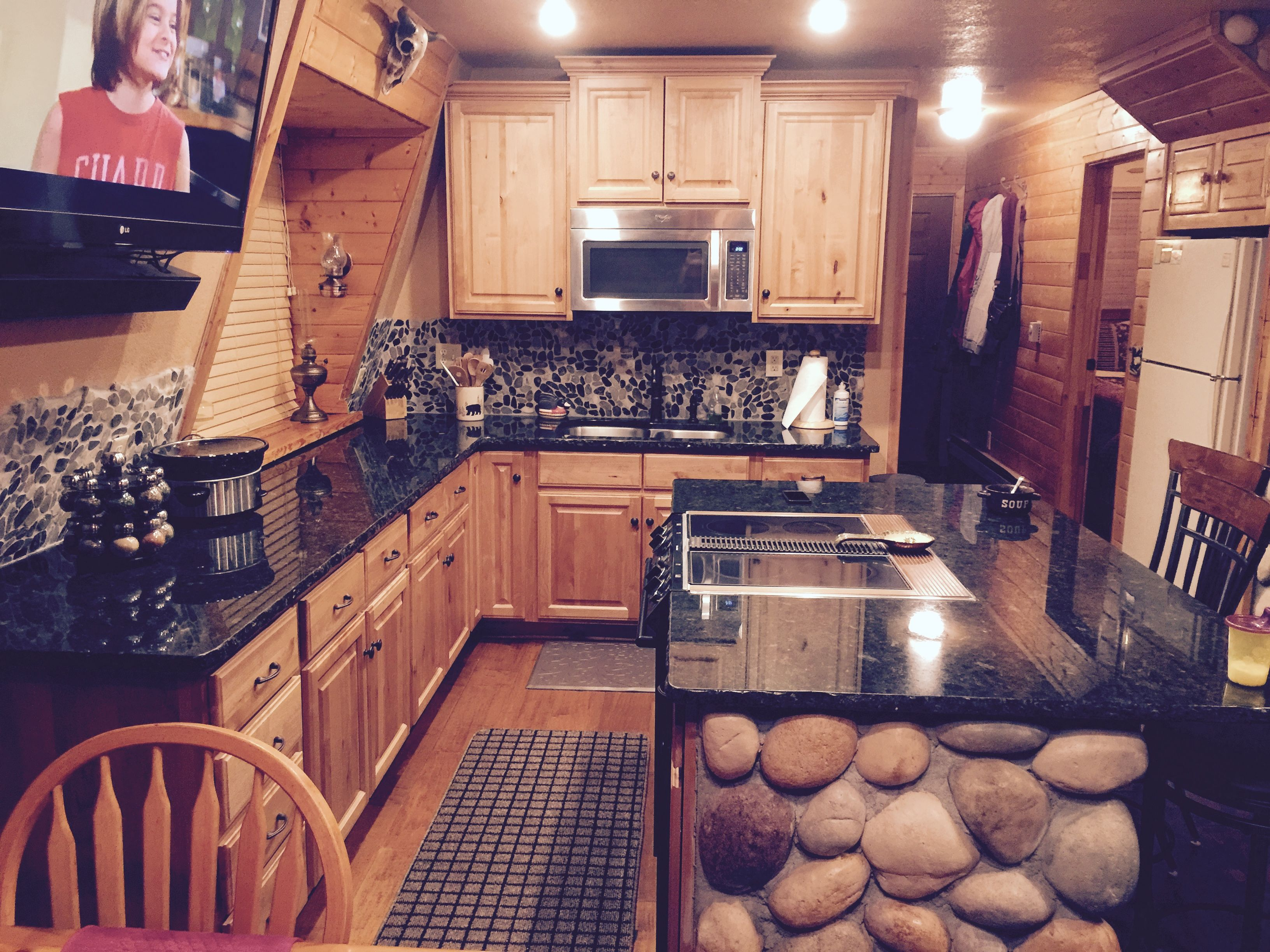 """Knotty Alder Cabinets had the best price and took only ..."