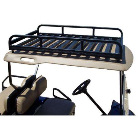 Add A Custom Roof Rack To Any Golf Cart And Greatly Expand Your Hauling  Capacity.