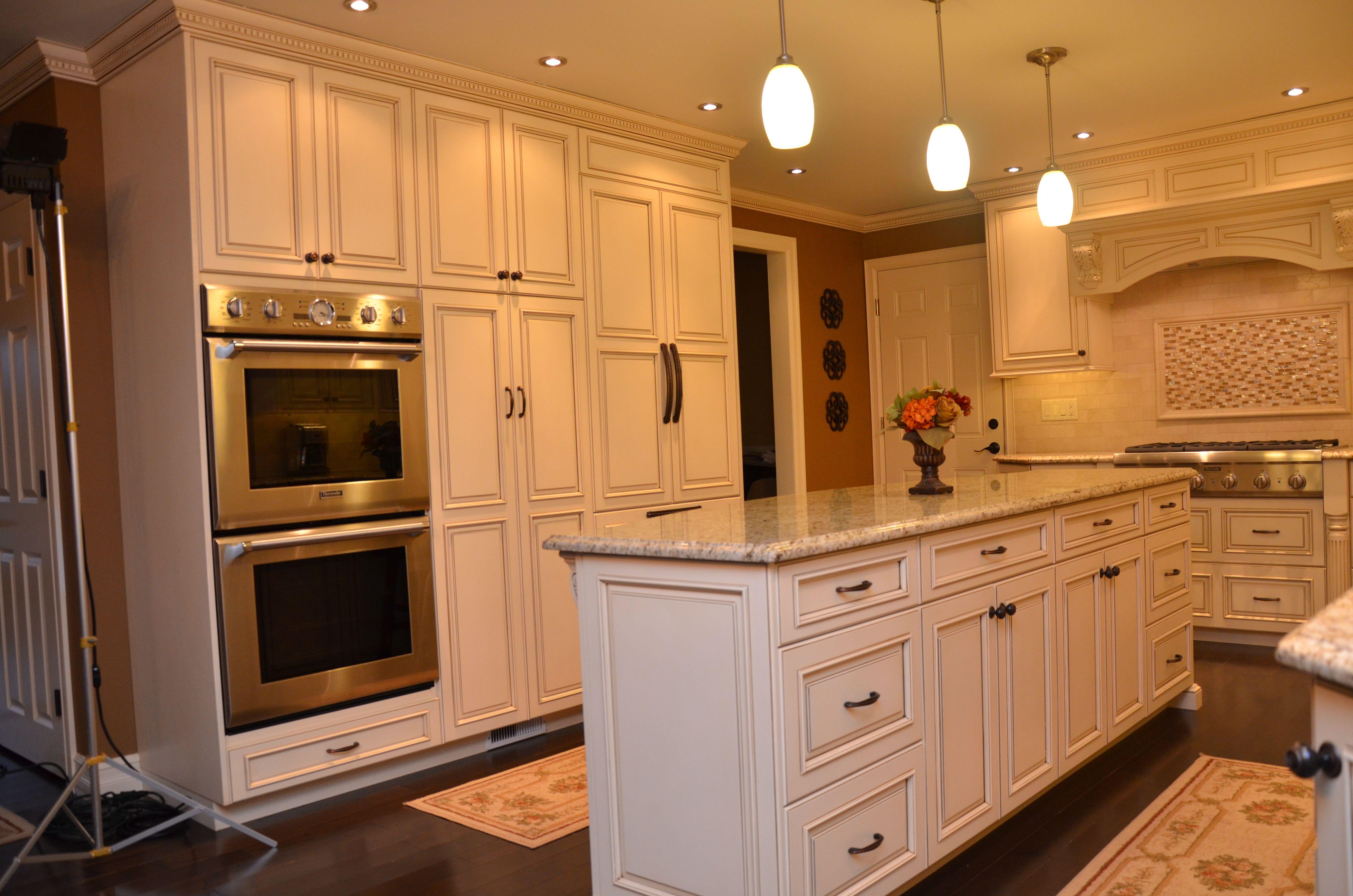 Decorative Glazed Cabinets In Marlboro Custom Kitchen Cabinets Design Custom Kitchen Cabinets Kitchen Cabinet Design