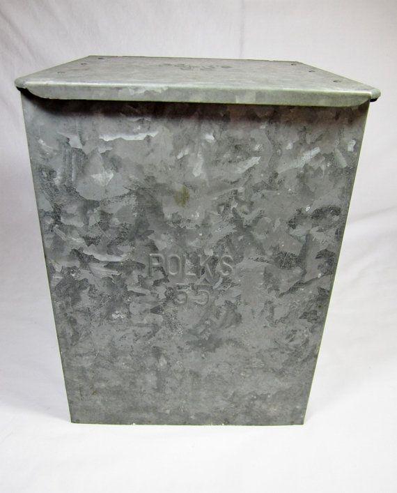 Milk Box Galvanized Metal Milk Box From Polk Milk Box Galvanized Metal Milk Bottle
